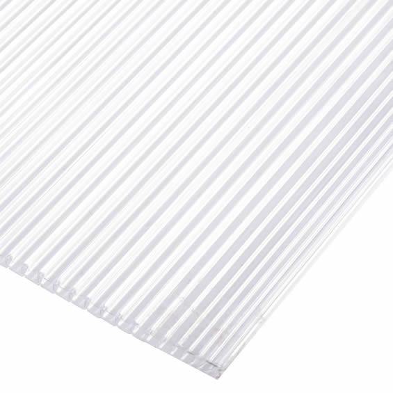 Venta de policarbonato alveolar trasl cido empresas tecnomat - Plancha policarbonato transparente ...