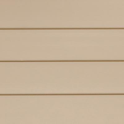 Panel de revestimiento siding PVC color Arena