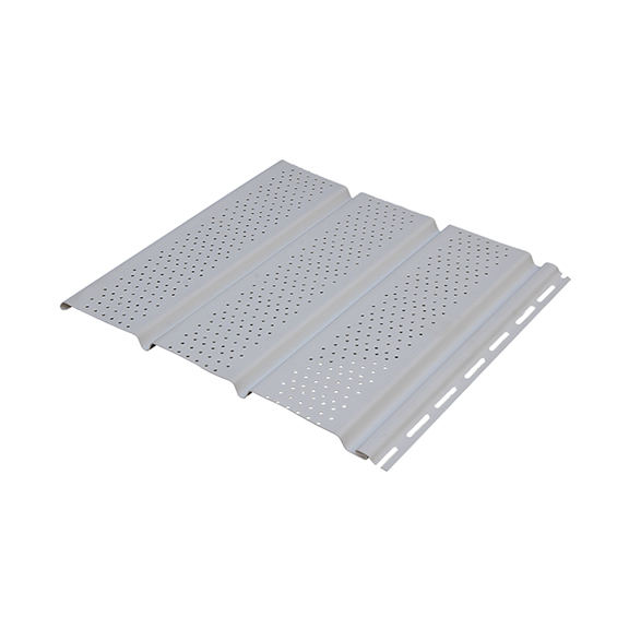 Alero ventilado siding PVC