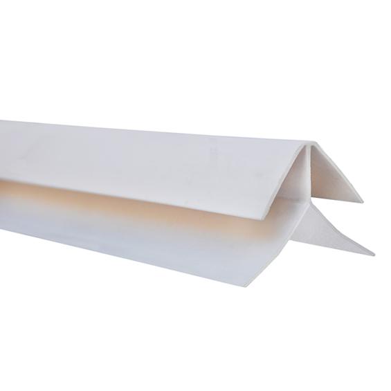 Perfil esquinero exterior para revestimiento PVC alveolar